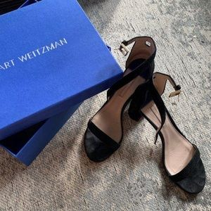 Stuart Weitzman Block Heel Sandal 9.5